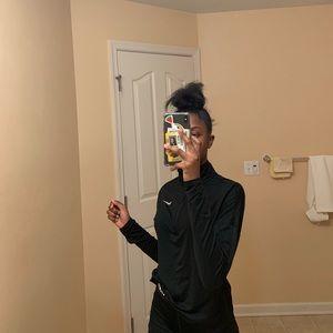 nike dri-fit black long sleeve shirt